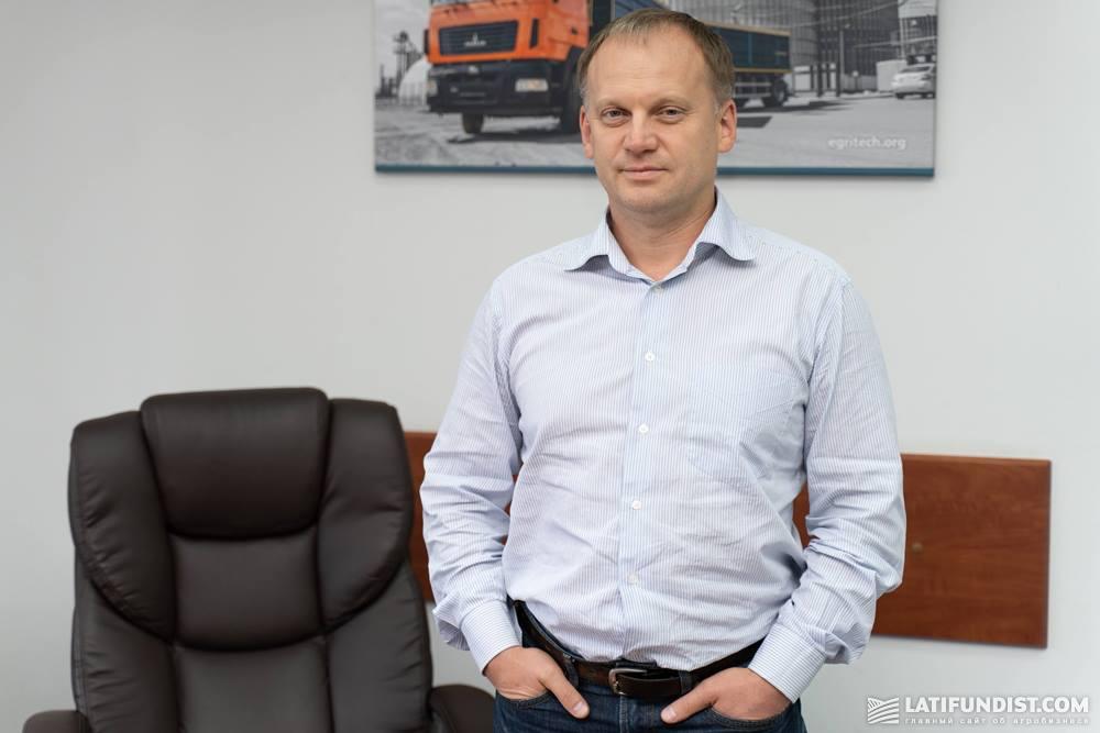 Александр Оскаленко, директор Egritech
