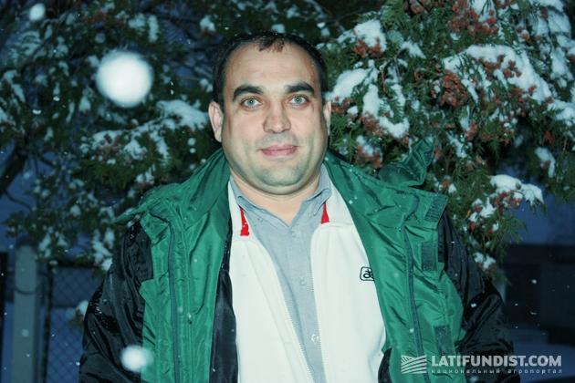 Сегей Бутенко, территориальным менеджер DuPont Pioneer в Киевской и Черниговской областях