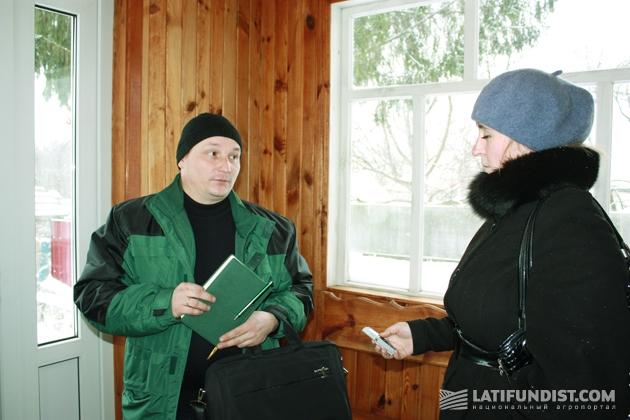 Валентин Евстратенко, один из шести агрономов-консультантов Левого берега Киевской области