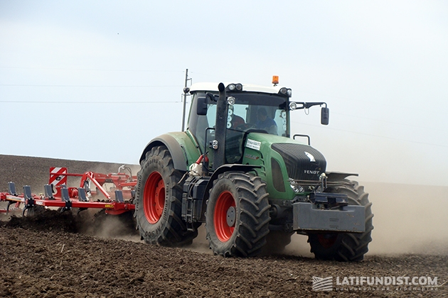 Весь мир пришел к тому, что даже маленькие фермеры пересаживаются на такие мощные тракторы, как Fendt