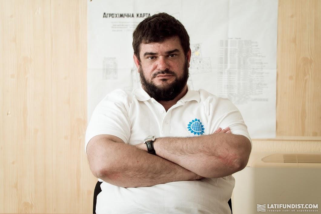 Николай Болтян, главный агроном хозяйства «Омельяненко»