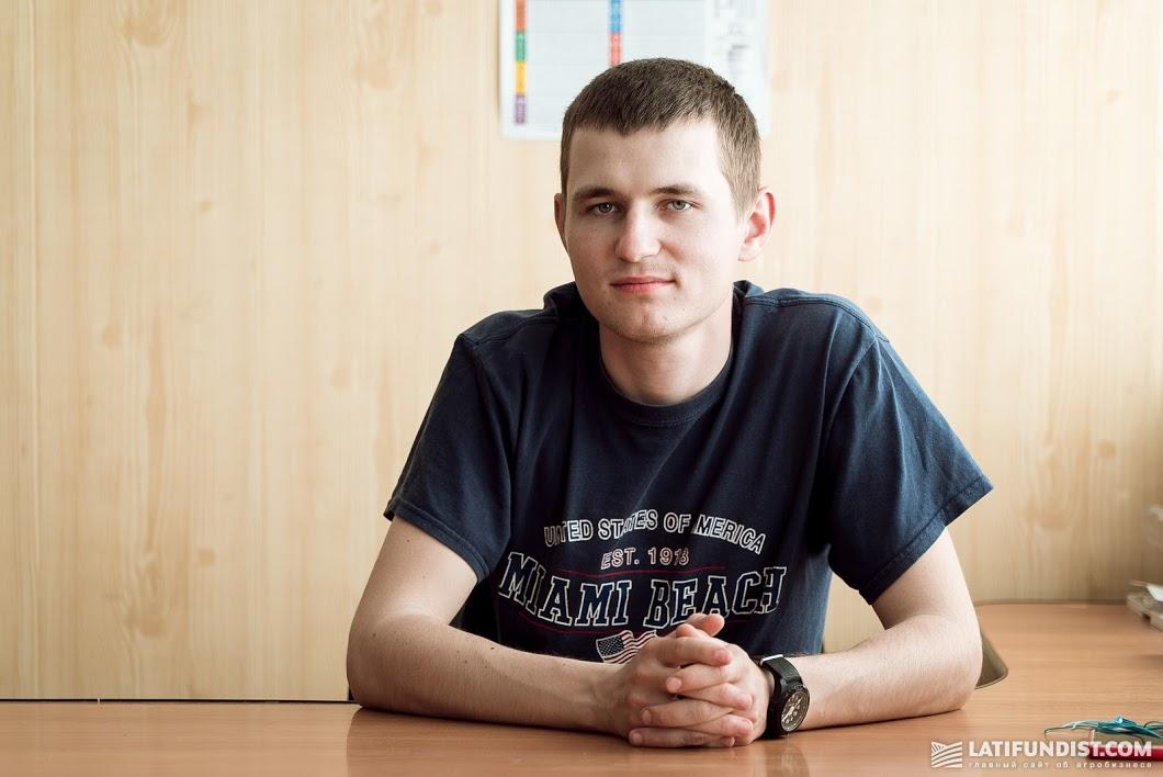 Сергей Омельяненко, агроном