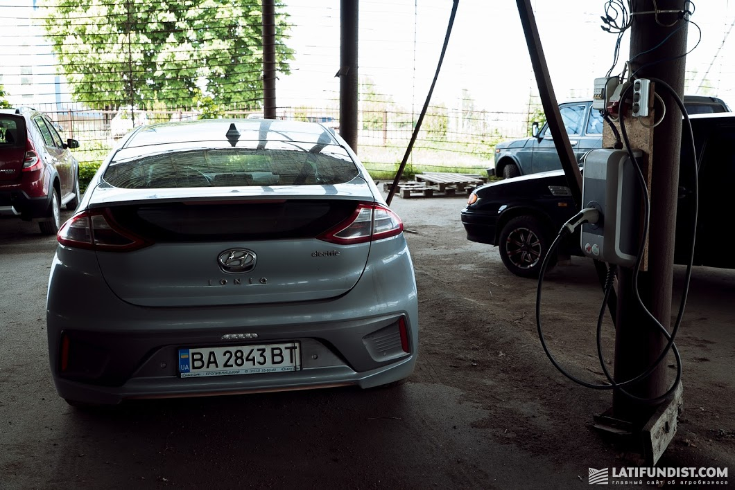 В ФХ «Омельяненко» предпочитают электромобили