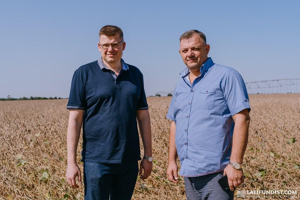 Сергей Назарчук и Валентин Сидоренко, основатели семенного хозяйства «СиНа»