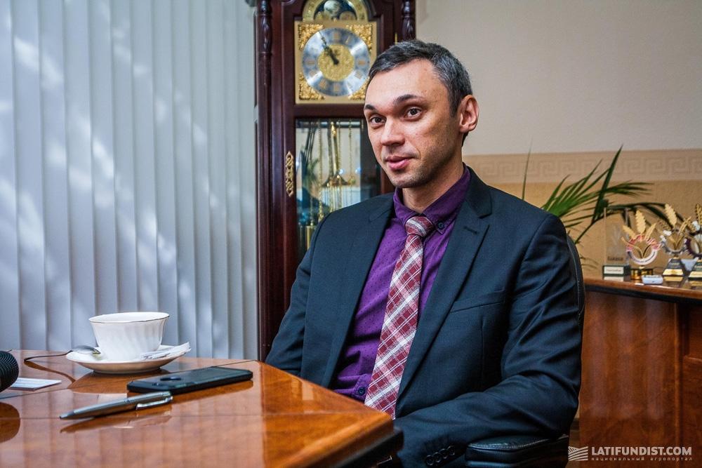 Павел Фесюк, коммерческий директор «УкрАгроКом»
