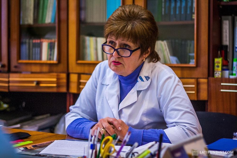 Валентина Феденко, главный технолог Александрийского завода