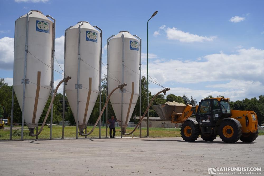 Силосные хранилища кормов