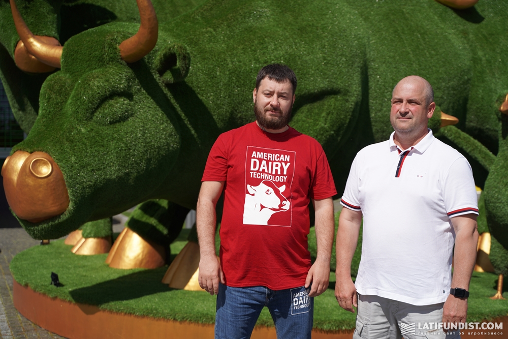 Александр Овчаренко и Борис Рудюк