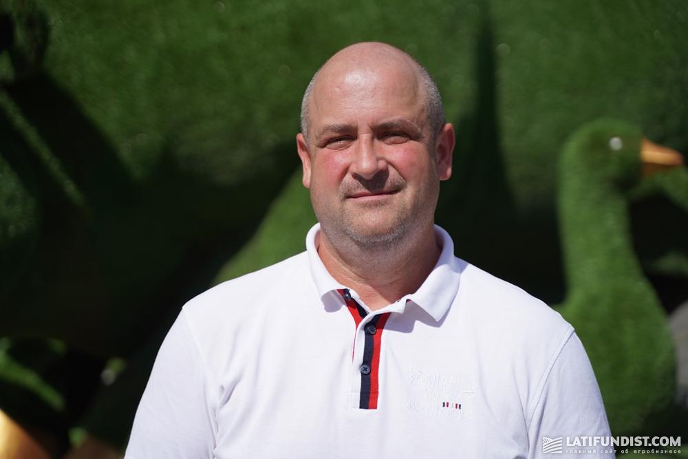Борис Рудюк, заместитель директора по животноводству «Агропродсервис»
