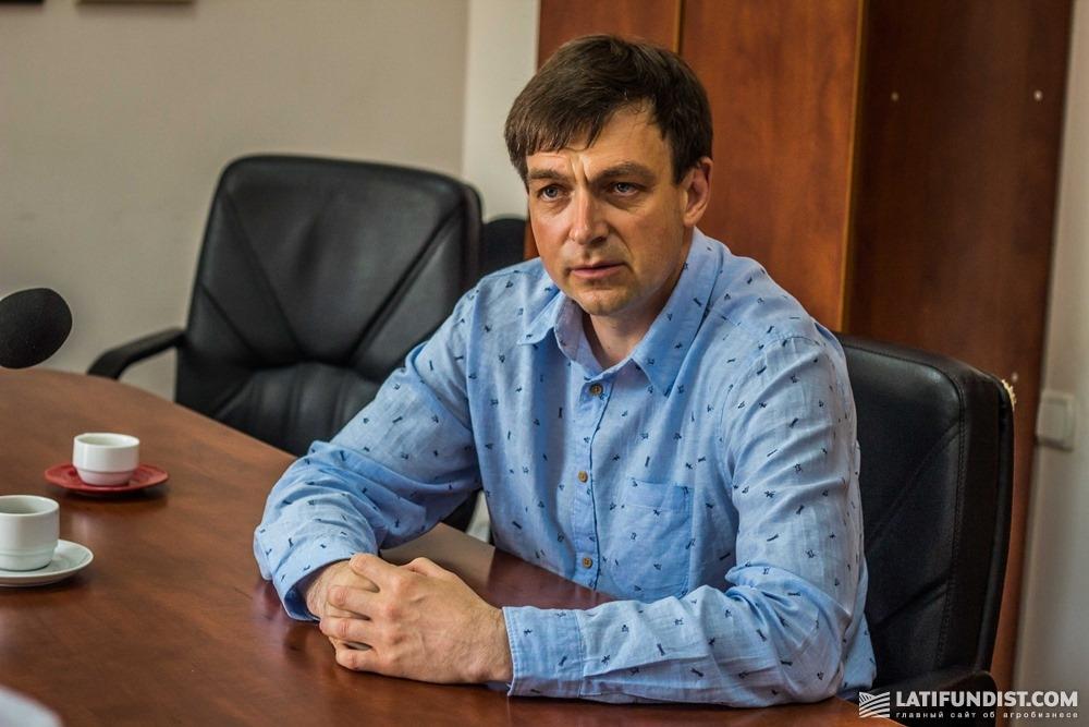 Евгений Радовенюк, главный исполнительный директор «Барышевской зерновой компании»