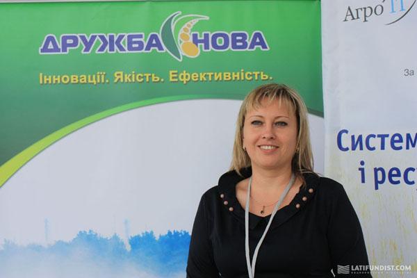 Светлана Попенко, первый заместитель генерального директора компании Дружба-Нова