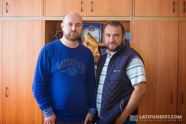 Григорий и Андрей Душейко