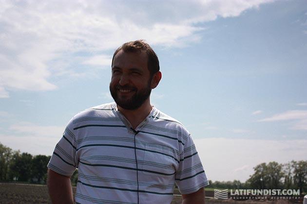 Андрей Душейко, руководитель Агрокорпорации «Днипро»