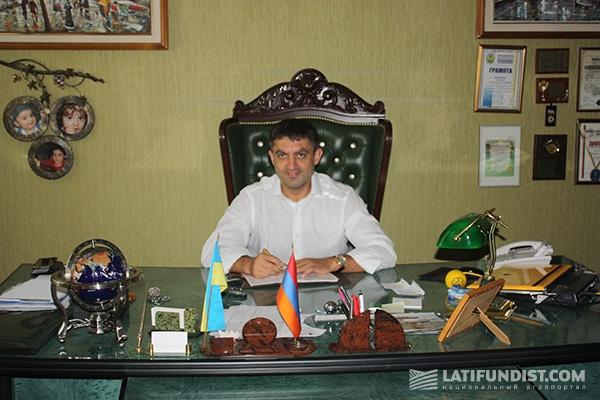 Руководитель группы компаний «Прометей» Рафаэль Гороян