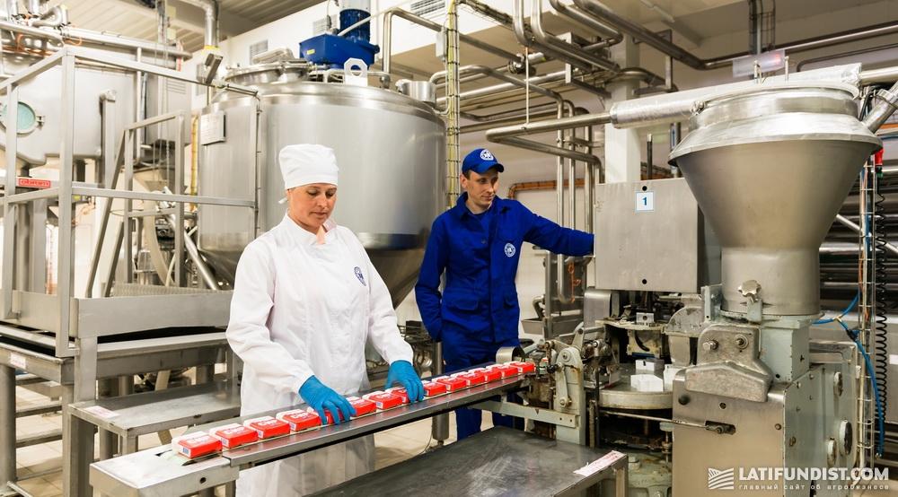 Цех по производству яготинского масла. Фото: PR-служба ГК «Молочный альянс»