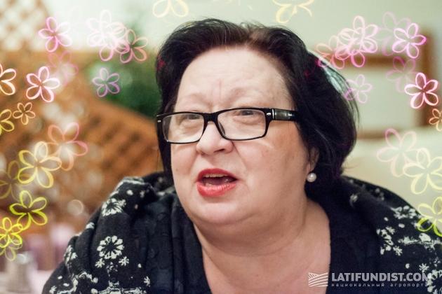 Тамара Подберезняк, глава Фумигационной ассоциации Украины