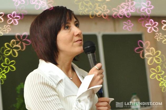 Инна Тавлуй, руководитель научной лаборатории «Агро-Стандарт»