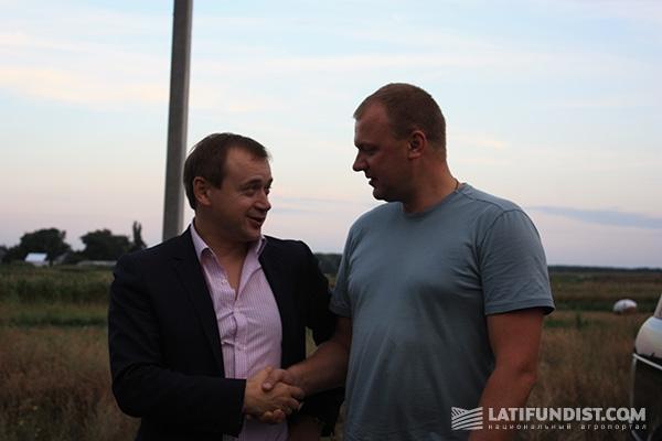 Алекс Лисситса и Сергей Гайдай: незапланированная встреча