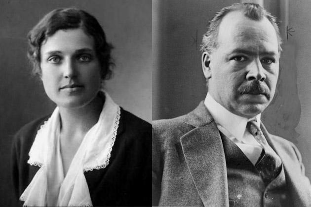 Елена Барулина и Николай Вавилов