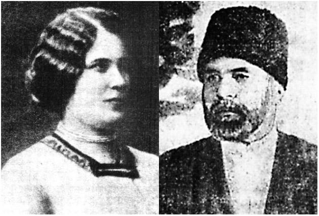Князь Бек-Мирзой Байчоров и Ирина Сахарова