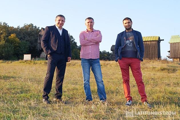Братья Куни: Владимир, Иван и Евгений