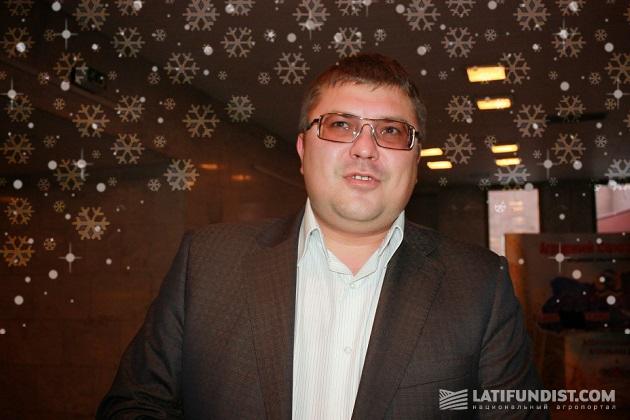 Евгений Третьяков, руководитель аграрно-арендного предприятия «Проминь»