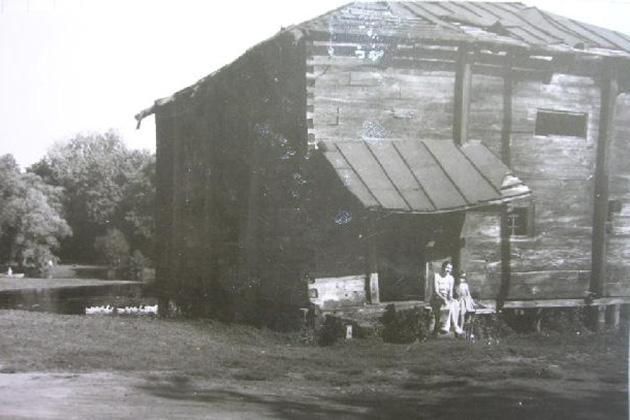 Так выглядела мельница еще в конце 80-х.