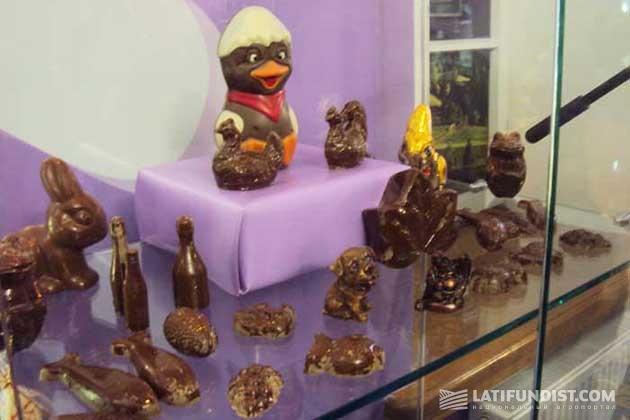 Это лишь одна (самая простая) из экспозиций Музея Шоколада