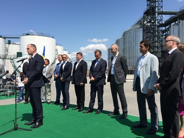 Министр Алексей Павленко открывает МЭЗ