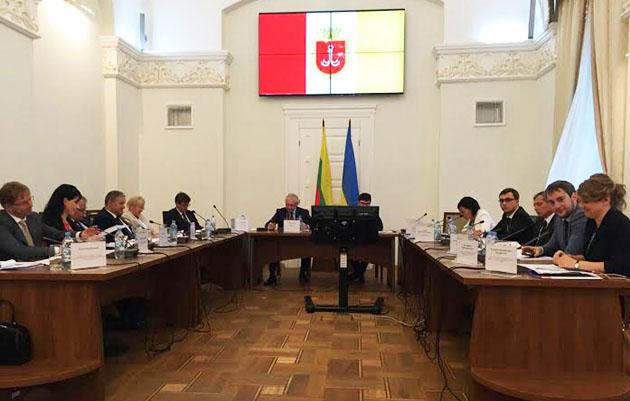 16 заседание Межправительственной Украинско-литовской комиссии