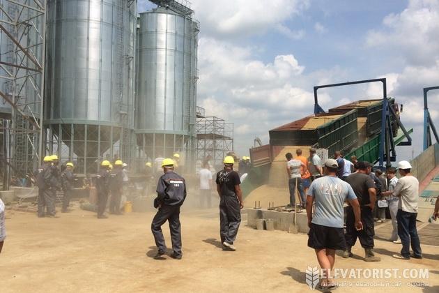 Вороновицкое ХПП начало прием зерна нового урожая
