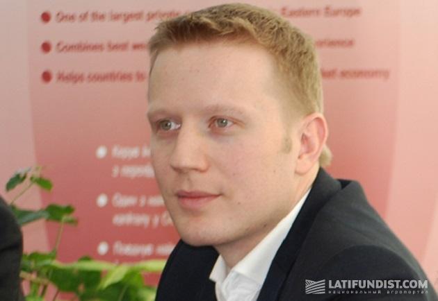 Генеральный директор John Deere в Украине Игорь Кутовой