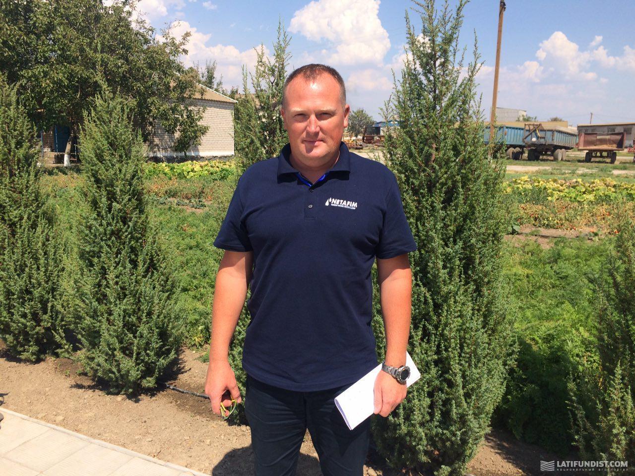 Сергей Савранский, директор «Нетафим Украина»