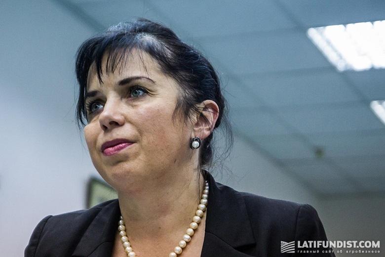 Лилия Тимакина, начальник юридического управления «Астарты»