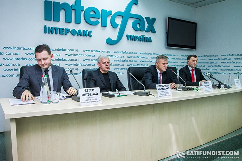 Пресс-конференция Виктора Скочко и Александра Коваленко