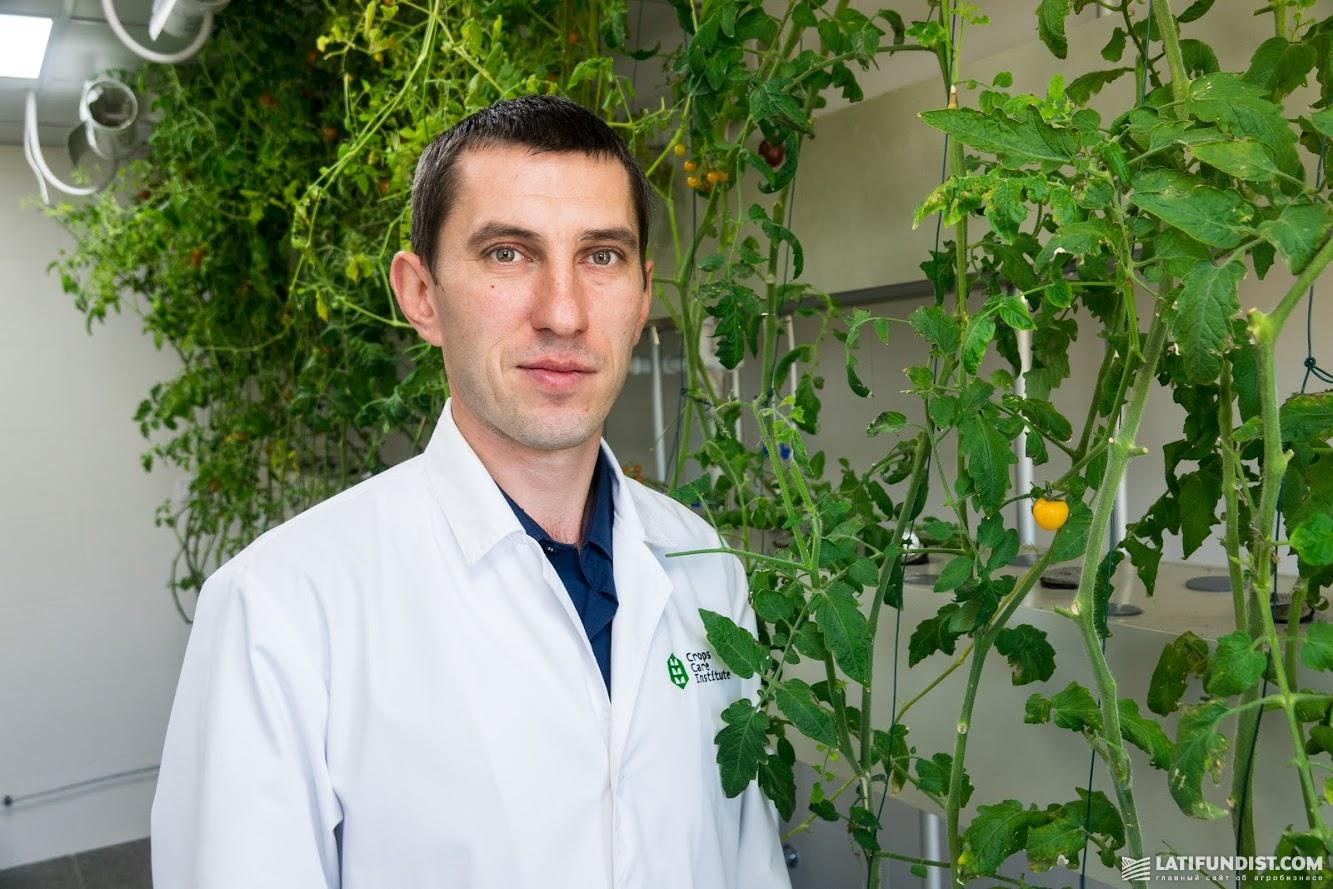 Владимир Конограй, начальник агробиологической лаборатории, кандидат биологических наук