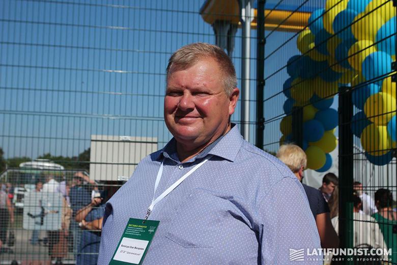Олег Балагура, директор ГП ОХ «Шевченковское»