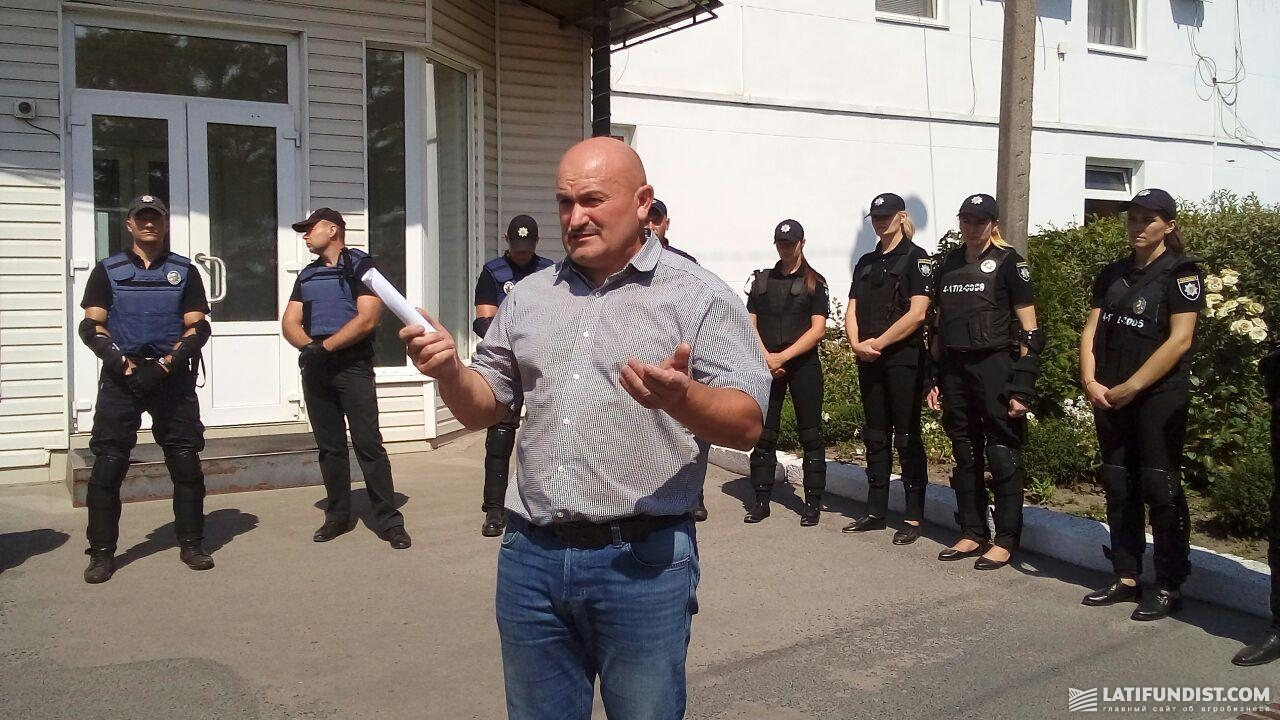 Юрий Щербак, директор Восточного кластера UkrLandFarming