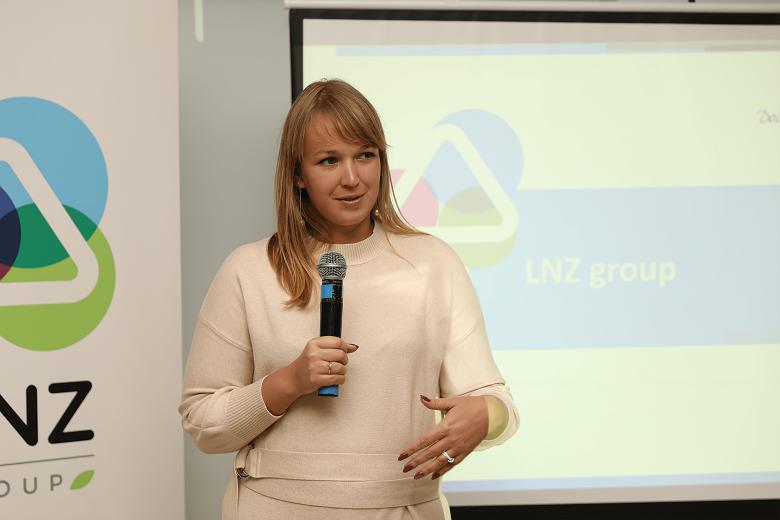 Юлия Каменева, директор по маркетингу LNZ Group
