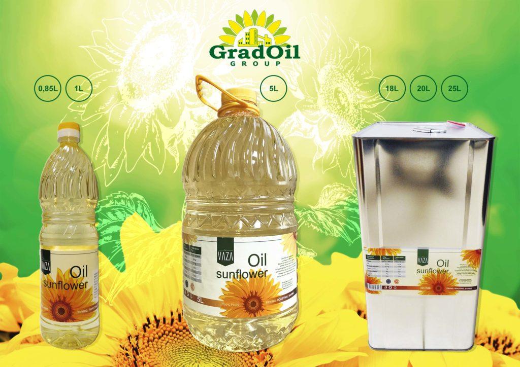 Рафинированное подсолнечное масло «ГрадОлия» (Источник фото: сайт компании)