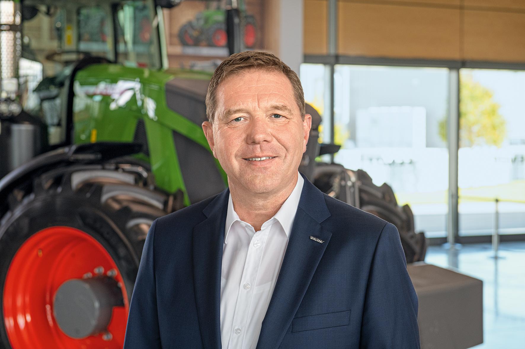 Кристоф Греблингхофф, новый управляющий директор и генеральный директор AGCO