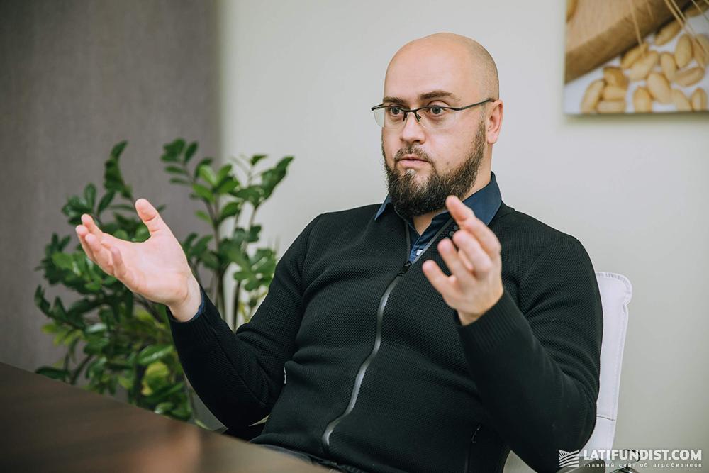 Алексей Сидоров, глава «Ассоциации Аграриев Украины» и директор по стратегии и развитию агрохолдинга Agromino
