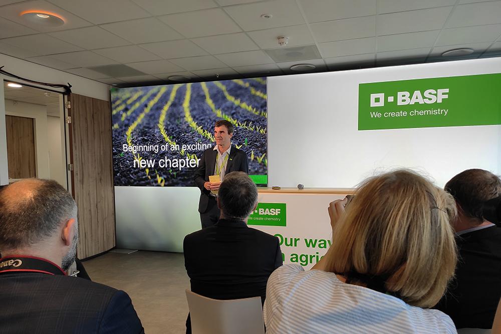 Винсент Грос, президент европейского подразделения средств защиты растений BASF