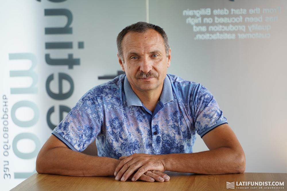 Василий Косюк, главный агроном компании «Агрокрай»