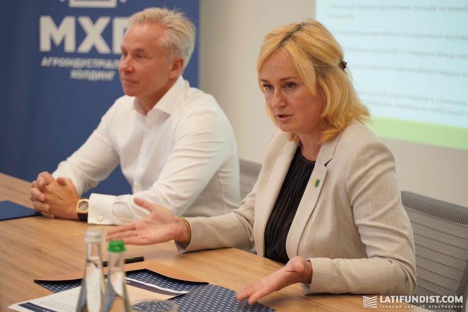 Елена Березовская, президент «Органической Украины»