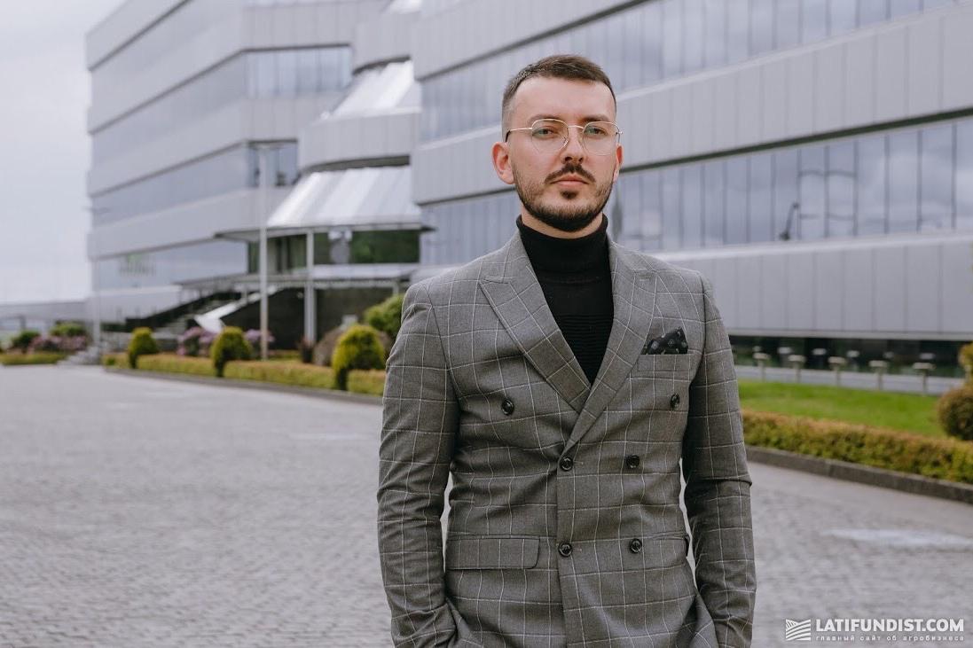 Максим Гузев, начальник отдела экспорта продуктов переработки МХП