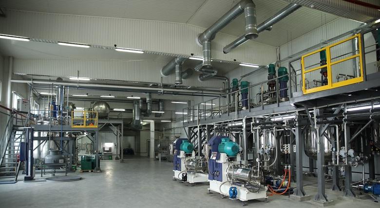 Цех для изготовления гербицидов на Белоцерковском заводе препаративных форм ALFA Smart Agro