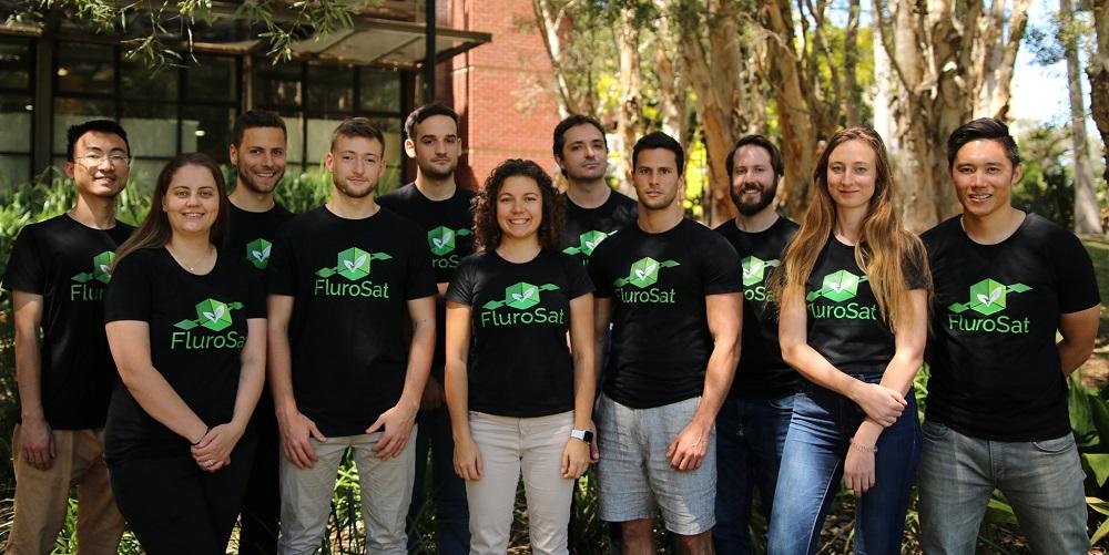 Команда стартапа Flurosat