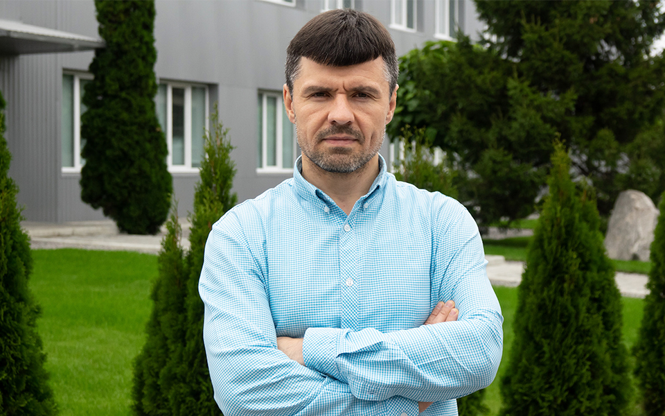 Роман Шпаченко, директор Белоцерковского завода препаративных форм