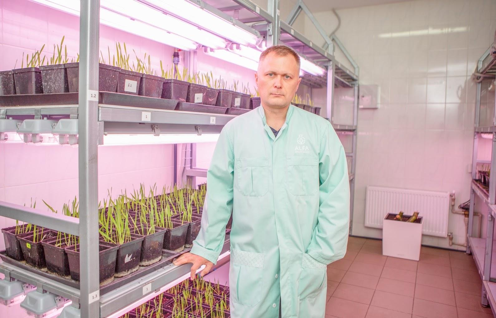 Валерий Литвиненко, заведующий агролабораторией ALFA Smart Agro